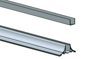 Ekstruderet plast, ekstruderet PVC, ekstruderet plastplanker, ekstruderet planker, ekstrudering 2, Profil, profiler, PVC profiler