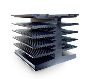 Ekstrudering i aluminium, ekstrudering metal, køleelement, ekstrudering
